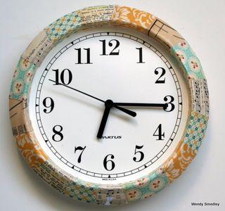 Clock done