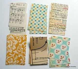 Ppaper blocks